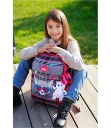 Фото 11. Ранец школьный DeLune 7-154 + мешок + мягкий пенал + мишка + ленточка