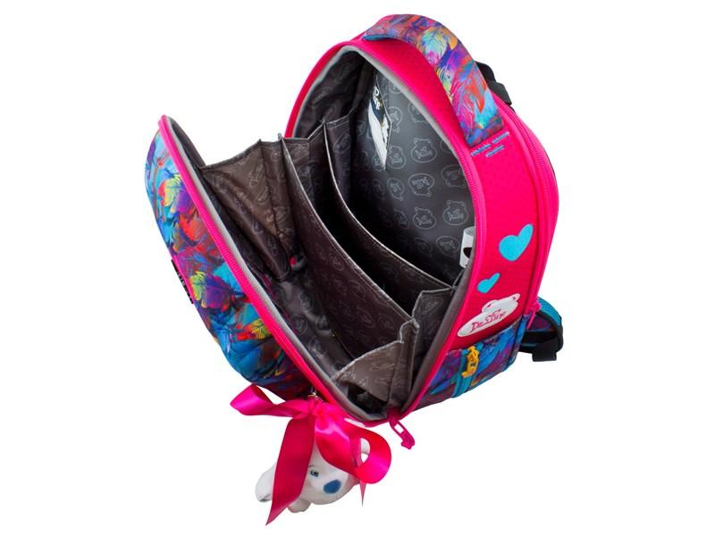 Ранец школьный DeLune 7mini-015 + мешок + пенал + мишка