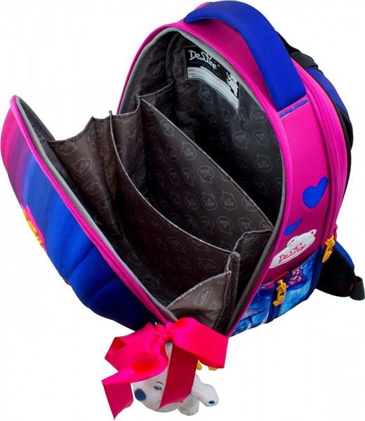 Ранец школьный DeLune 7mini-017 + мешок + пенал + мишка