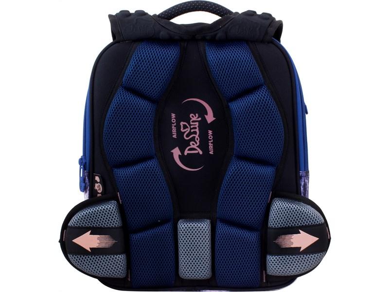 Ранец школьный DeLune 7mini-019 + мешок + пенал + часы