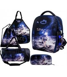 Ранец школьный DeLune 7mini-019 Full-set + мешок + пенал + сумка + фартук + часы