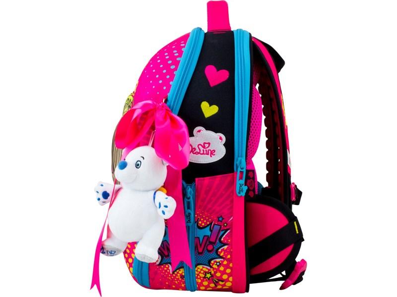 Ранец школьный DeLune 7mini-022 + мешок + пенал + мишка