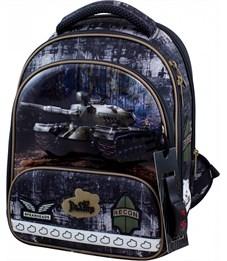 Ранец школьный DeLune 9-128 + мешок + пенал + часы