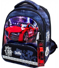 Ранец школьный DeLune 9-129 + мешок + пенал + часы