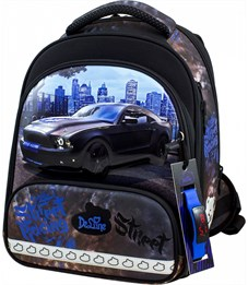 Ранец школьный DeLune 9-130 + мешок + пенал + часы