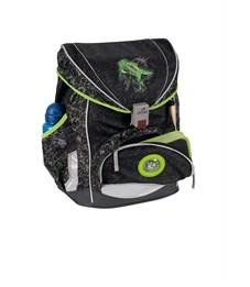 Фото 4. Школьный ранец DerDieDas ErgoFlex Superlight Зеленый Динозавр с наполнением