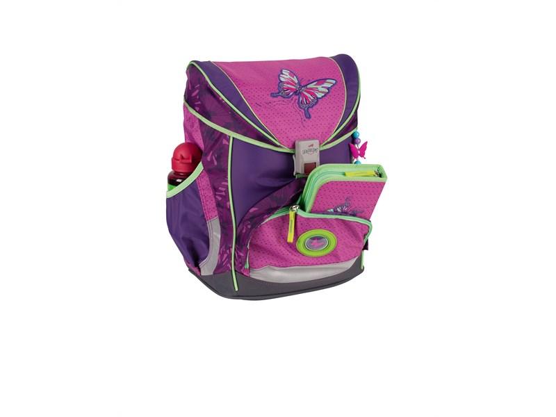 95e3385e2882 ... Школьный ранец DerDieDas ErgoFlex Розовая Бабочка с наполнением ...
