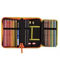 Фото 7. Школьный ранец DerDieDas Exklusiv Switch Patch Сафари с наполнением 7 предметов