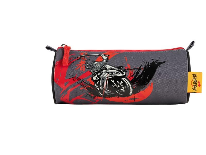 Школьный ранец DerDieDas ErgoFlex Ниндзя-байкер с наполнением