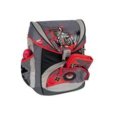 Фото 5. Школьный ранец DerDieDas ErgoFlex Ниндзя-байкер с наполнением