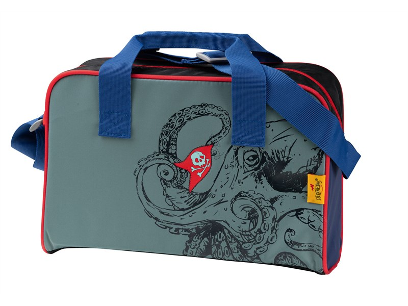 Школьный ранец DerDieDas ErgoFlex Морской мотив с наполнением