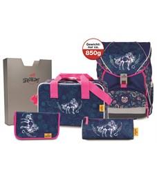 Школьный ранец DerDieDas ErgoFlex XL Красотка с наполнением