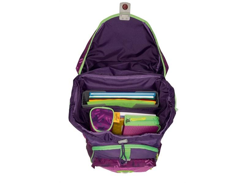 Школьный ранец DerDieDas ErgoFlex XL Розовая Бабочка с наполнением