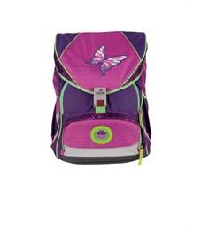Фото 2. Школьный ранец DerDieDas ErgoFlex XL Розовая Бабочка с наполнением