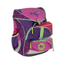 Фото 5. Школьный ранец DerDieDas ErgoFlex XL Розовая Бабочка с наполнением