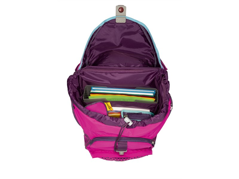 Школьный ранец DerDieDas ErgoFlex XL Диско с наполнением