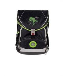 Фото 2. Школьный ранец DerDieDas ErgoFlex XL Зеленый Динозавр с наполнением