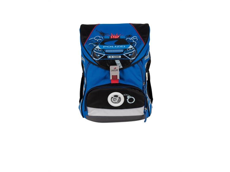 Школьный ранец DerDieDas ErgoFlex XL Полицейская машина с наполнением