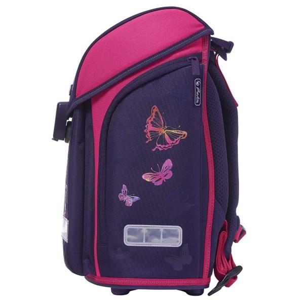 Ранец школьный Herlitz Midi New Plus Rainbow Butterfly с наполнением
