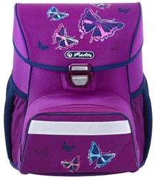 Фото 4. Ранец школьный Herlitz Loop Plus Glitter Butterfly с наполнением