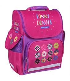 """Ранец ArtSpace  Junior  """"Funny donuts"""" 37*28*21см, 1 отделение, 3 кармана, анатомическая спинка"""