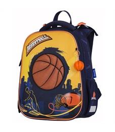 """Ранец Berlingo Expert """"Basketball"""" 37*28*16 см, 2 отделения, 2 кармана, анатомическая спинка"""