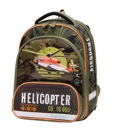 """Ранец Berlingo Modern """"Helicopter"""" 37*28*21см, 2 отделения, 2 кармана, анатомическая спинка"""