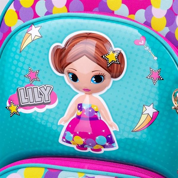 """Ранец Berlingo Modern """"Lily doll"""" 37*28*21см, 2 отделения, 2 кармана, анатомическая спинка"""