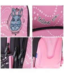 """Фото 8. Ранец Berlingo облегченный Flash """"Sweet bunny"""" 37*28*15 см, 2 отд, 3 кармана, анатомическая спинка"""