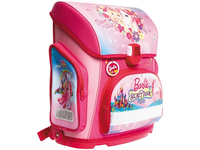 """Ранец Hatber Optimum """"Barbie - The Secret Door"""" 37*30*17см, 1 отделение, 3 кармана, анатом. спинка"""