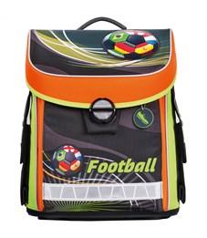 """Ранец Hatber Premium """"Football"""" 36*30*16см, 2 отделения, 2 кармана, анатомическая спинка"""