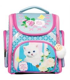 """Ранец с наполнением Berlingo Ultra Compact """"Lovely kitty"""" 37*30*17см, 1 отд., анатомическая спинка"""