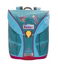 """Школьный рюкзак Scout Nano Style """"Попугай"""" с наполнением"""