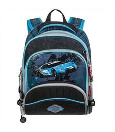 Ранец школьный Across ACR18-178-1 с мешком для обуви