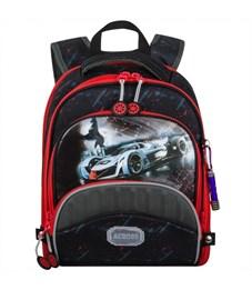 Ранец школьный Across ACR18-178-4 с мешком для обуви