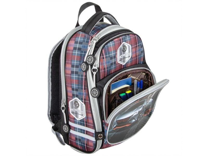 Ранец школьный Across ACR18-178A-3 с мешком для обуви