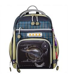 Ранец школьный Across ACR18-180-1 с мешком для обуви