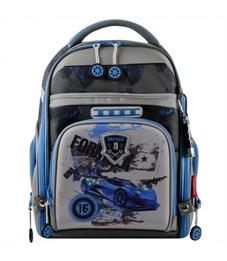 Ранец школьный Across ACR18-180-2 с мешком для обуви