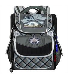 Ранец школьный Across ACR18-195A-2 с мешком для обуви