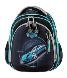 Ранец школьный Across ACR18-203-3 с мешком для обуви