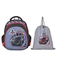 Ранец школьный Across Гонка 203-3 с мешком для обуви
