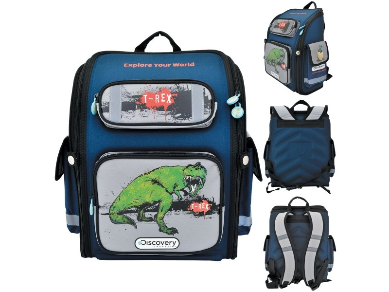 Ранец школьный Action! Discovery T-Rex
