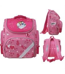 Ранец школьный Action! Love is... розовый