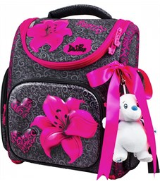 Ранец школьный DeLune 3-160 + мешок + мишка