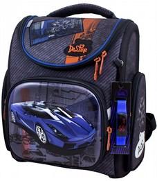 Ранец школьный DeLune 3-164 + мешок + часы