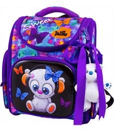 Ранец школьный DeLune 3-167 + мешок + мишка