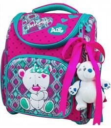Ранец школьный DeLune 3-168 + мешок + мишка