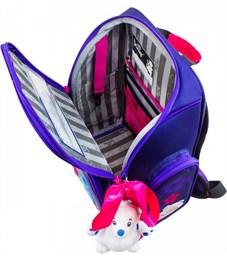 Фото 3. Ранец школьный DeLune Цветы 6-117 + мешок + мишка