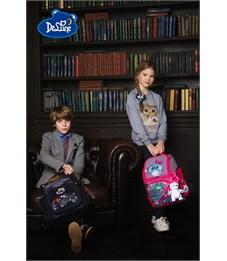 Фото 10. Ранец школьный DeLune Джип 6-121 + мешок + часы