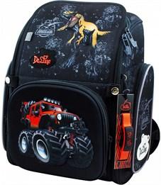 Ранец школьный DeLune Динозавр 6-122 + мешок + часы